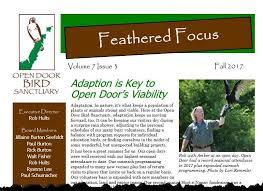 Open Door Bird Sanctuary Home