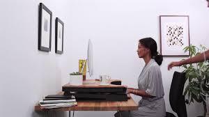 Hyken Mesh Chair Manual by Ergotronhome Workspace Lift35 Java Adjustable Standing Desk