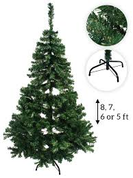8ft Christmas Tree Ebay by Artificial Christmas Tree Traditional Decoration 5ft 6ft 7ft 8ft