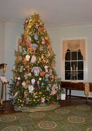 This Years Christmas Tree At Laurel Hill Mansion