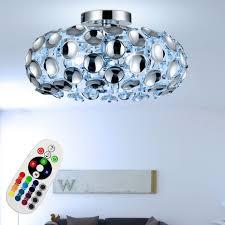 etc shop deckenleuchte deckenleuchte wohnzimmer chrom kugelle innen acryldekor rgb led fernbedienung farbwechsel dimmbar 3x 3 5 watt 3x 320