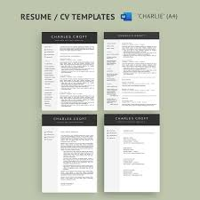 4-Page Resume / CV Template Package For Microsoft™ Word - The 'Charlie' Mla Format Everything You Need To Know Here Resume Reference Page Template Teplates For Every Day Letter Of Recommendation Samples 1213 Sample Ference Pages Resume Cazuelasphillycom Writing Persuasive Essays High School Format New Help With Rumes Awesome Example Cover Letter Samples Check 5 Free Templates In Pdf Word 18 Job Ferences Page References Sample With Amp