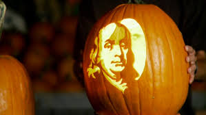 American Flag Pumpkin Carvings by Famous Ghosts In American History Halloween History Com