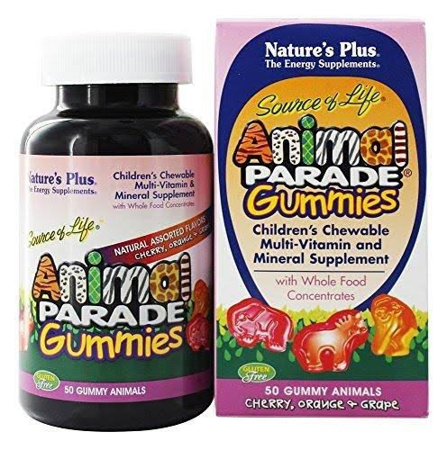 Nature's Plus - Animal Parade Gummies Assorted - 50 Gummies