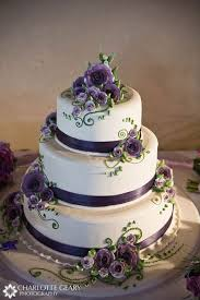 Purple Wedding Cakes Also Simple Rustic Cake Ornament