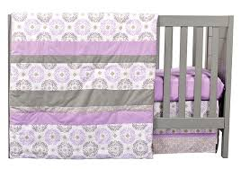 Florence 3 Piece Crib Bedding Set Trend Lab