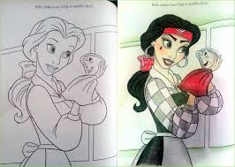 Explore Coloring Books Belle And More