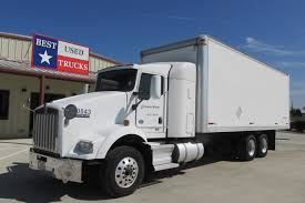 2010 Kenworth T800 Box Van -