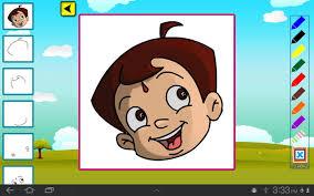 Draw Color Chhota Bheem Screenshot