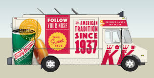 Keats Pierce - Food Truck Graphics Huge Rat Runs Off With Krispy Kreme Doughnut Across Car Park As Nike Teams Up With Krispy Kreme For Special Edition Kyrie 2 From The Ohio River To Twin City North Carolina Nike And Make For An Unlikely Sneaker Collaboration Greenlight Colctibles Hitch Tow Series 4 Set Nypd Doughnuts Plastic Delivery Truck Van Coffee Tea Cocoa Close Blacksportsonline Amazoncom 164 Hd Trucks 2013 Intertional Full Print Freightliner Sprinter Wrap Car