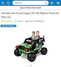 Monster Jam Toys For The Ultimate Monster Truck Fan Walmartcom Fisher Price Power Wheels Ford F150 73 Shipped Lego City Great Vehicles Monster Truck Slickdealsnet Kid Galaxy Radio Control Dump Hot Wheels Walmart Exclusive 2017 Camouflage Camo Trucks Complete Walmart Says These Will Be The 25 Toys Every Kid Wants This Holiday Air Hogs Shadow Launcher Car Copter With Bonus Batteries Blaze And Machines Cake Decoration Set Sparkle Me Pink New Bright Rc Pro Reaper Review Toys Of 2014 Toy Trucks At Best Resource 90s Hot Upc Barcode Upcitemdbcom