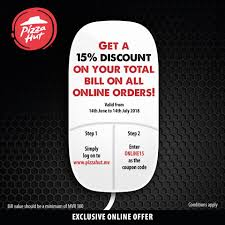 Order Online On Www.pizzahut.mv And Get... - Pizza Hut ... Pizza Hut Online And In Store Coupons Promotions Specials Deals At Pizza Hut Delivery Country Door Discount Coupon Codes Wikipedia Hillsboro Greenfield Oh Weve Got A Treat Your Dad Wont Forget Dominos Hot Wings Coupons New Car Deals October 2018 Uk 50 Off Code August 2019 Youtube Offering During Nfl Draft Ceremony Apple Student This Weekends Best For Your Sports Viewing 17 Savings Tricks You Cant Live Without Delivery Coupon Promo Free Cream Of Mushroom Soup