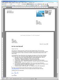 Briefvorlage Word Schweiz Kostenloser Download