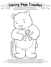 Red Ribbon Week Coloring Pages HD