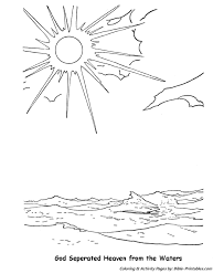 The Biblical Creation Story Coloring Pages 2