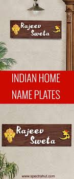 Name Plate For Housewarming Gifts From Spectrahut Handmade