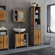 woodkings bad set patna altholz badezimmer möbel rustikal etsy
