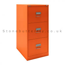 Bisley Filing Cabinet Accessories by Classic Bs3c Office Filing Cabinet Mandarin