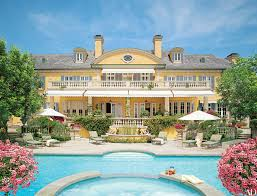 100 Holmby Hills La Tour Rod Stewarts English CountryStyle Estate In Beverly