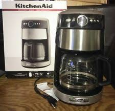 Item 7 Kitchen Aid Architect Series 14 Cup Coffee Maker