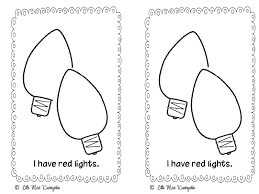 Christmas Lights Coloring Pages 23