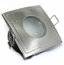 230v badezimmer feuchtraum einbauleuchten aqua square für