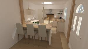 cuisine beige et bois cuisine beige et bois style cagne chic