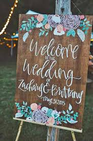 Rustic Wedding Signs Best 25 Wood Ideas On Pinterest