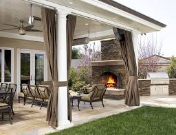 Sunbrella Curtains With Grommets by Custom Outdoor Drapes Archives Drapestyle