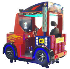 100 Big Trucks Racing China KnU Motion Car Video Game Machine Truck China