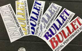 100 Back Window Decals For Trucks Rear Truck SUV Bullet Logo Decal Sticker