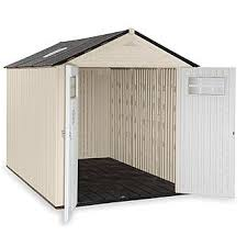 Rubbermaid Garden Tool Shed by Rubbermaid 1825260 Outdoor Resin Storage Shed 7 U0027 X 10 U00276