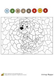 Monde Des Petits Coloriages À Imprimer Tout Coloriage Chien Mignon