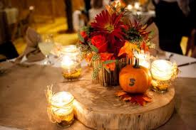 Innovative Fall Leaves Wedding Decorations Decoration Autumn Table