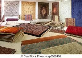 magasin de tapis magasin coloré exposition arabe moquette tapis