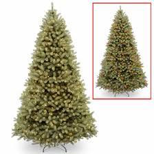 9 Ft Feel Real Douglas Fir Christmas Tree With 900 Dual LED Lights