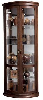 furniture cherry corner curio cabinet ikea with shelves for home