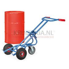 100 Drum Hand Truck Ling Equipment Barrel Hand Truck For 200 Ltr Steel