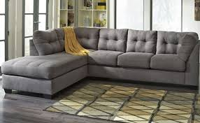 contemporary gray sectional sofa with chaise living room furniture