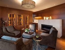 relax room wine cellar midcentury with ceiling lighting metal racks