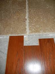 Laminate Floor Transitions To Tiles by Transition Travertine To Engineered Wood Flooring