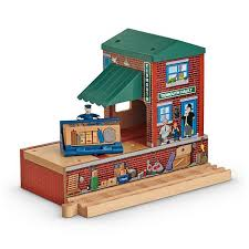 Thomas And Friends Tidmouth Sheds Wooden Railway by Thomas U0026 Friends Wooden Railway Tidmouth Station Bdg09 Fisher