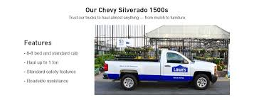 Our Chevy Silverado 1500s Trust Trucks To Haul Almost Anything From Mulch Furniture