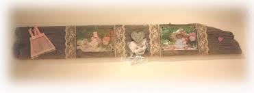 cadre photo en bois flotté décoration en bois flotté et divers