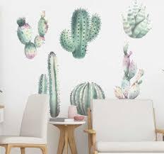 aufkleber ranke pflanze kaktus arten nordisch