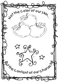 Astounding Dr Martin Luther King Jr Coloring Pages With