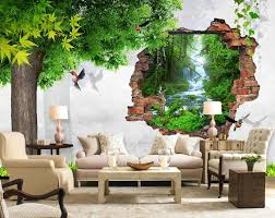 Wall Mural Decals Nature by Online Get Cheap Nature Wall Murals Aliexpress Com Alibaba Group