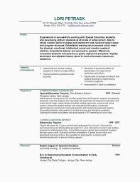Tutor Resume Sample Teacher Example Best Fresh 0d Good