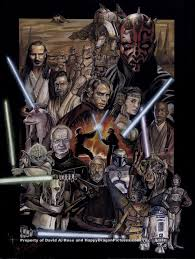 Star Wars The Prequel Trilogy By Happydragonpictures