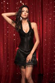 jacquard embroidery satin bustier lace halter corset vacodo lingerie